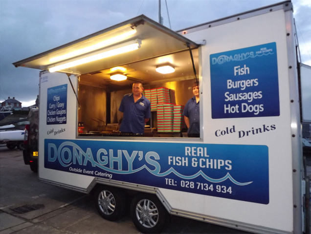 Fish & Chip Van