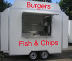 Mobile Catering - Chipvan / Burger Van Hire in Ballynahinch